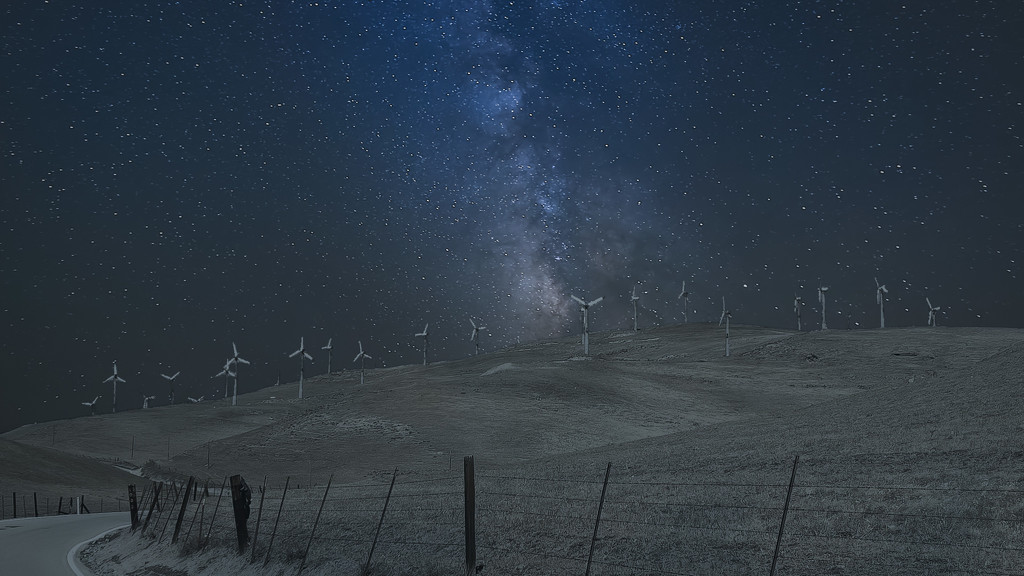 Patterson Pass Milky Way by mikegifford