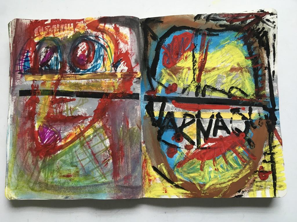 #16 sketchbook  by joemuli