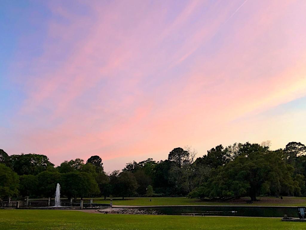 Sunset at Hampton Park by congaree