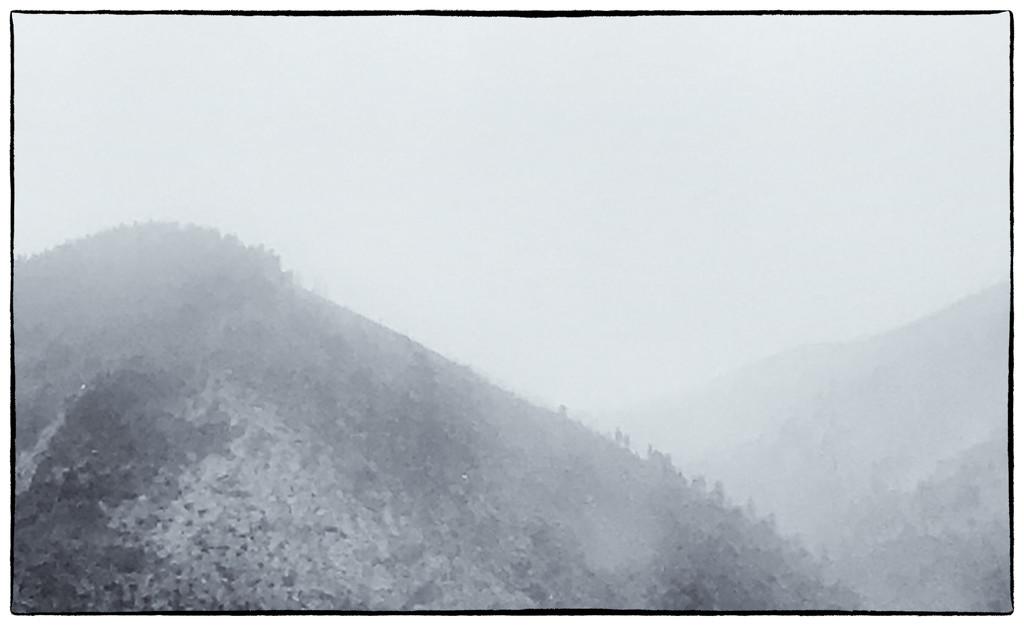 Flag Fog by joysabin