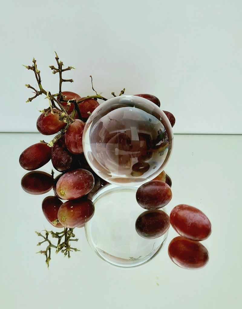18. Grapes by serendypyty