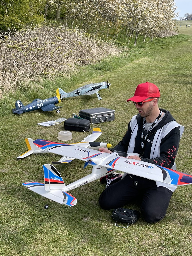 Model planes by tinley23