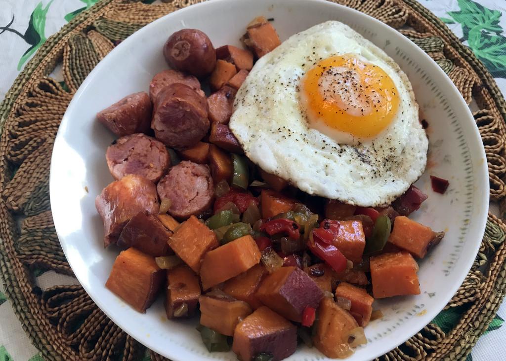 Sweet Potato Hash Breakfast by jaybutterfield