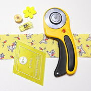 18th Apr 2021 - Yellow sewing flat lay