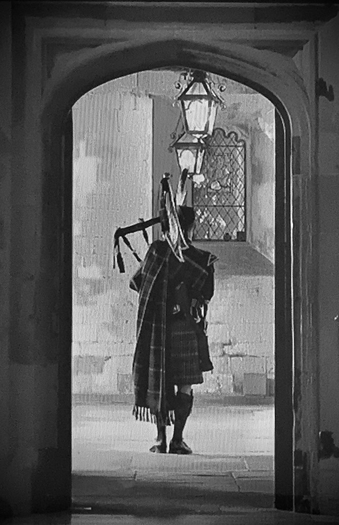 Braemar piper plays lament at Prince Philip, the Duke of Edinburgh's funeral by miss_molly