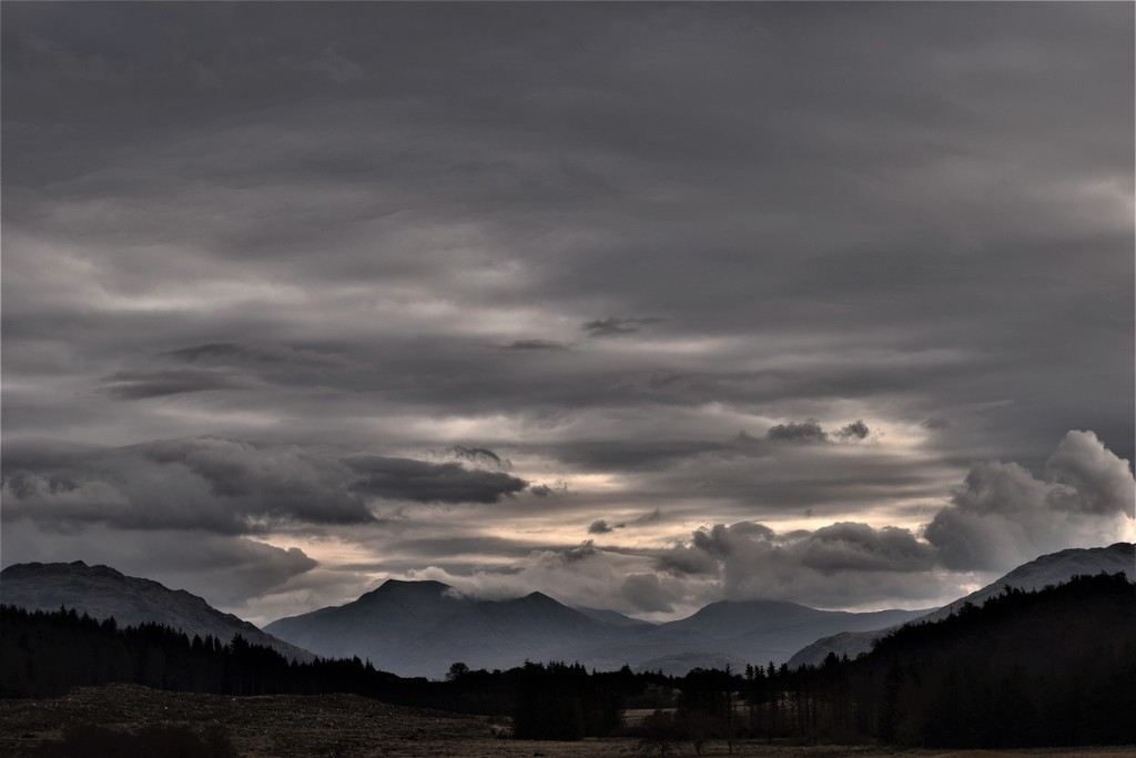Monday clouds by christophercox