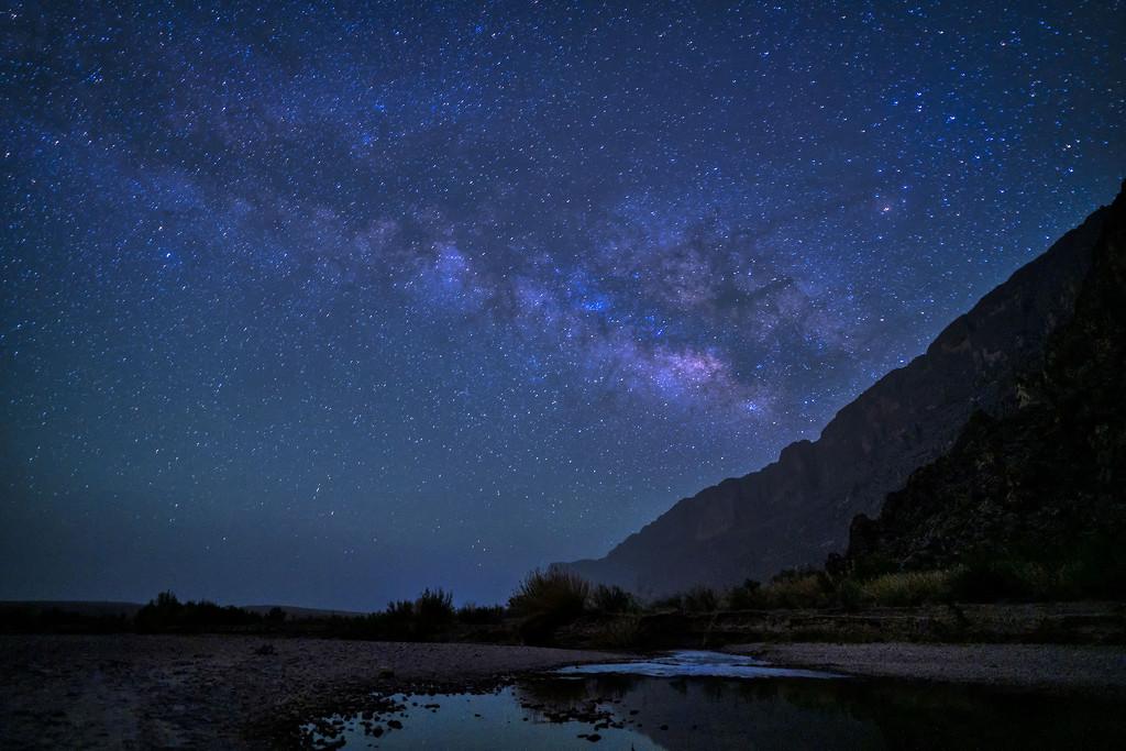 Stars Over the Rio Grande #2 by kvphoto