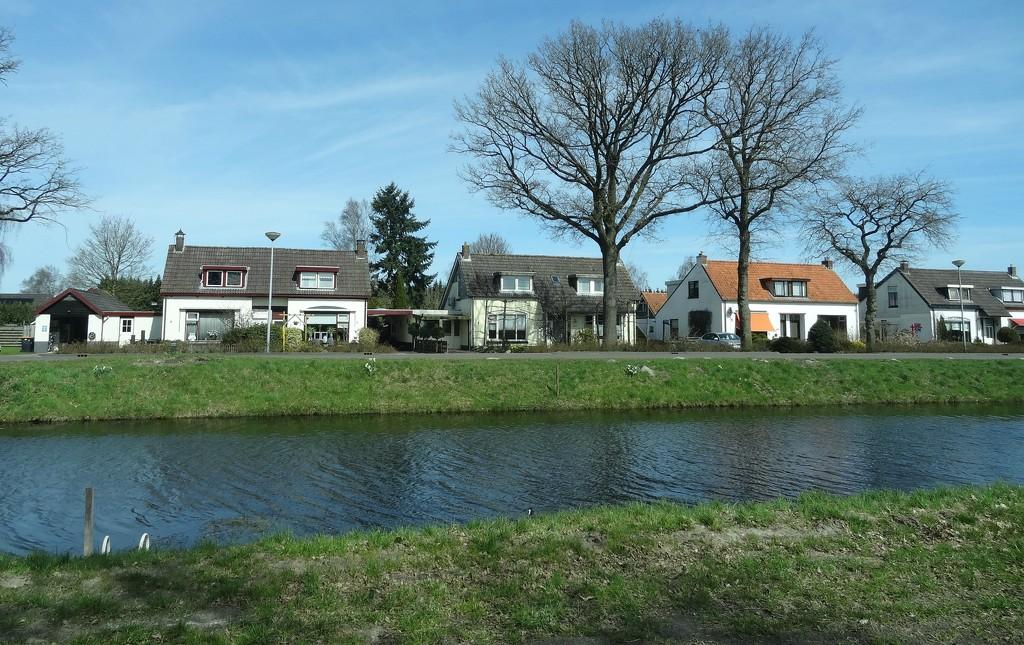 a row of houses by gijsje