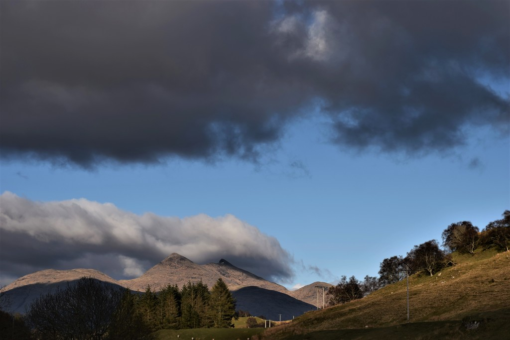 contrasting clouds by christophercox