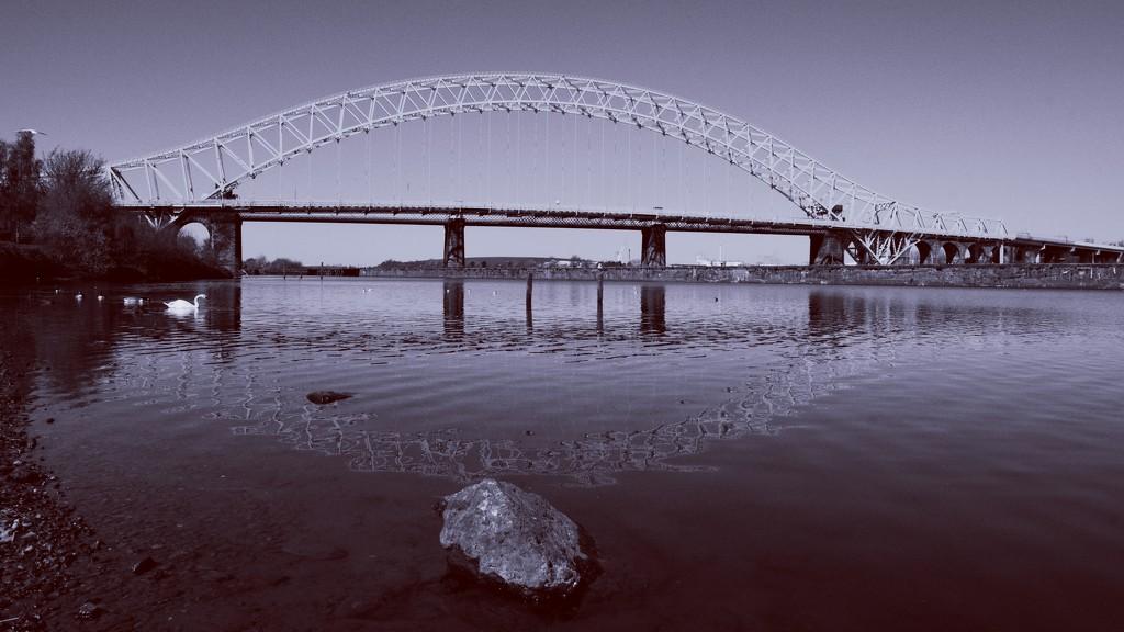 BRIDGE OVER ROCKY WATERS  by markp