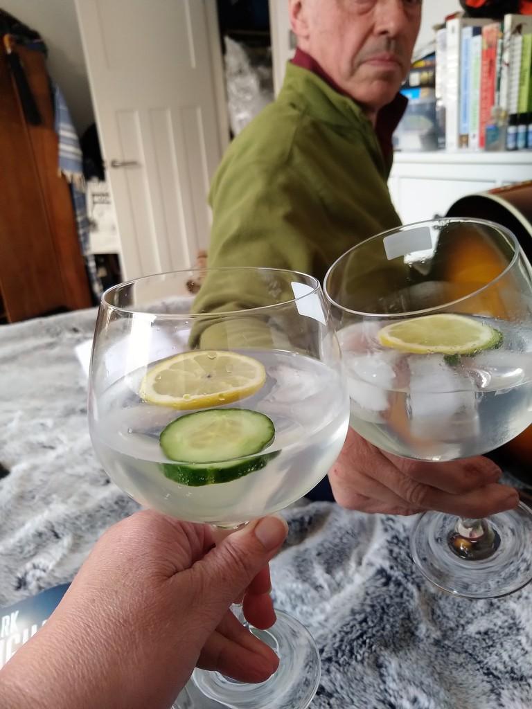 Celebratory gin by boxplayer