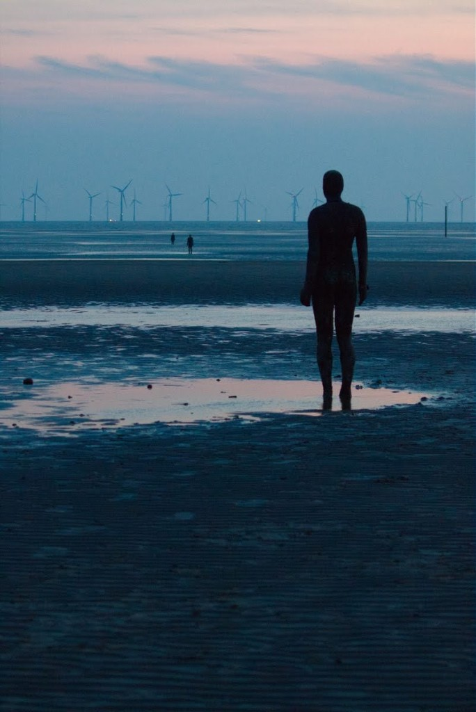 It's catch up time! Had a nice evening on Saturday with some fellow photographers at Formby taking pics of Anthony Gormley's Another Place- the statues go far out but as I didn't  have my wellies on could only take shots of the nearest to the promenade. by lyndamcg