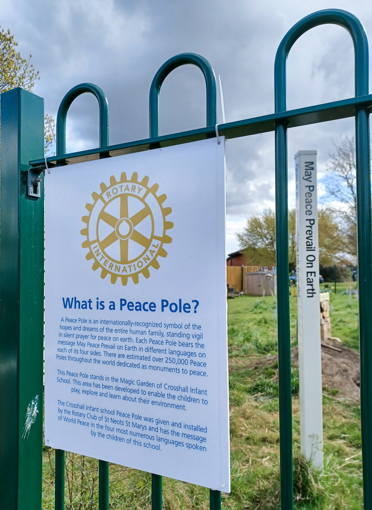 The peace pole by busylady