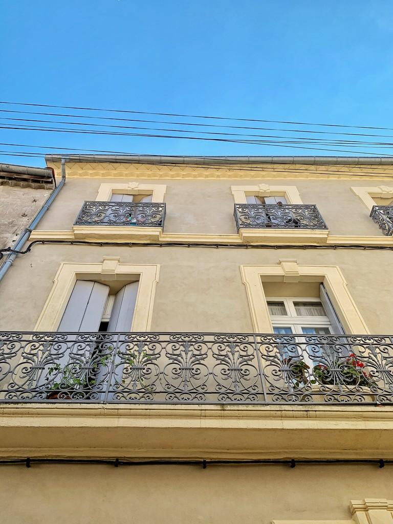 Balcony with big hearts.  by cocobella