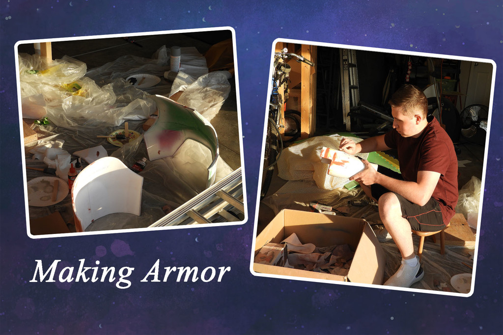 Making armor by homeschoolmom