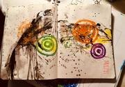 21st Apr 2021 - Art journal