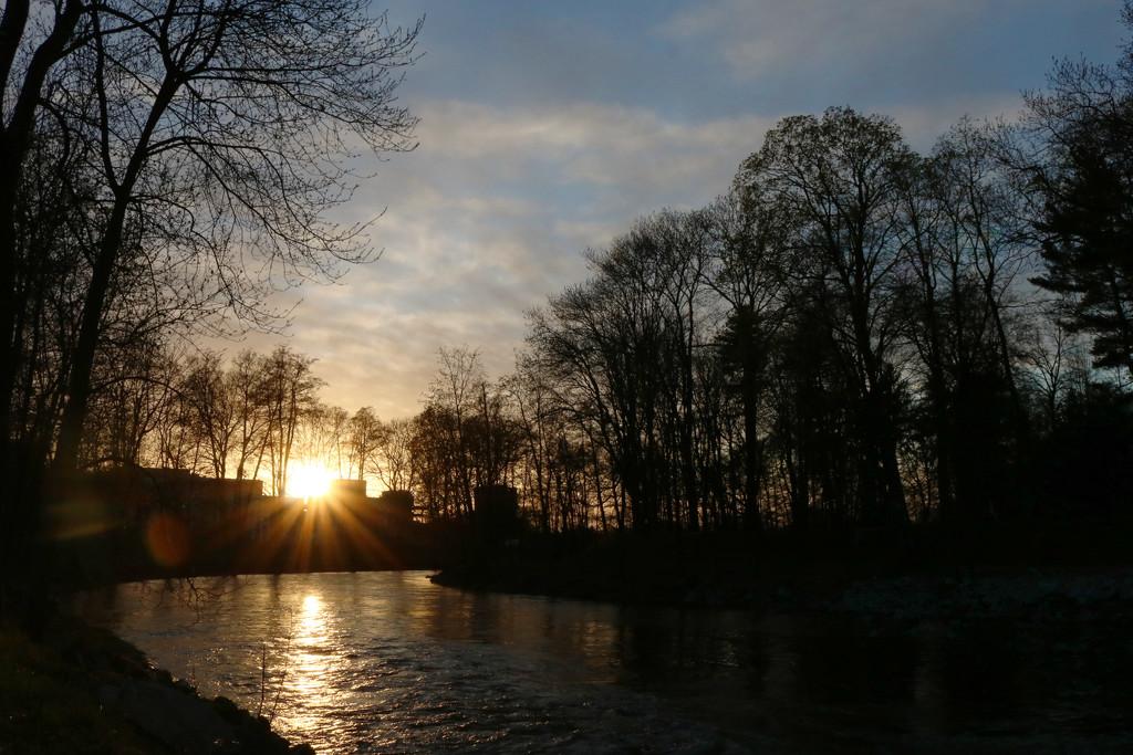 Večer nad řekou by petrv0