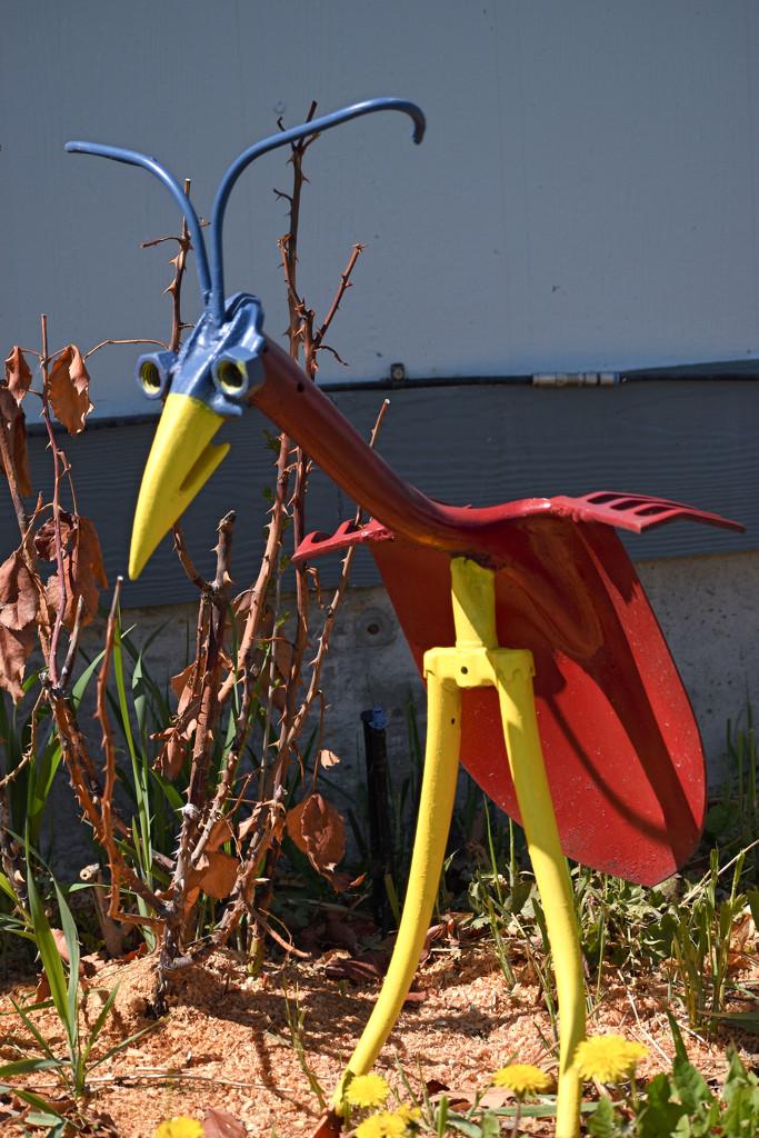 Metal Art Bird by bjywamer