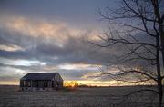 22nd Apr 2021 - 8th line Barn Sunset