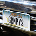 Grumpy's License Plate