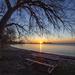 Lakeside Sunrise by pdulis