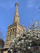 26th Apr 2021 - The continued spire renovation.