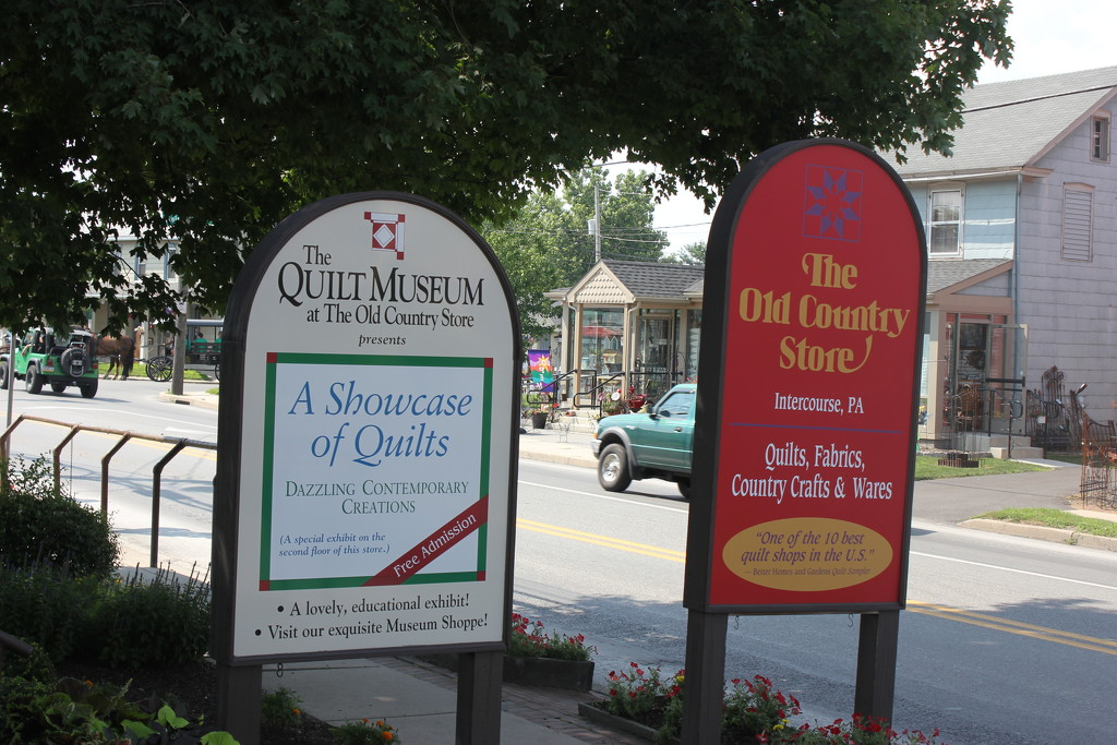 Quilts #5: Quilt Museum by spanishliz