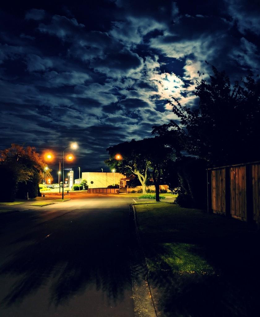 Beautiful moon light tonight by sandradavies