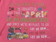19th Apr 2021 - Pink virus shirt