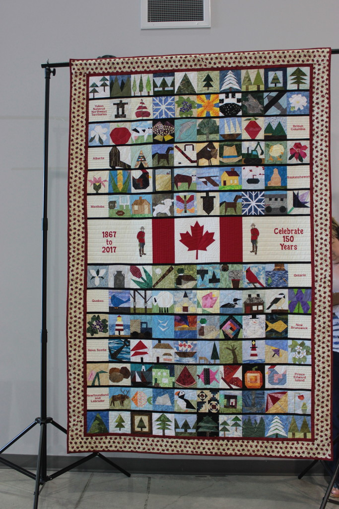 Quilts #7: Canada at 150 by spanishliz