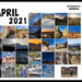 Big Bend Calendar for April 2021