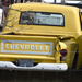Classic Yellow Chevy