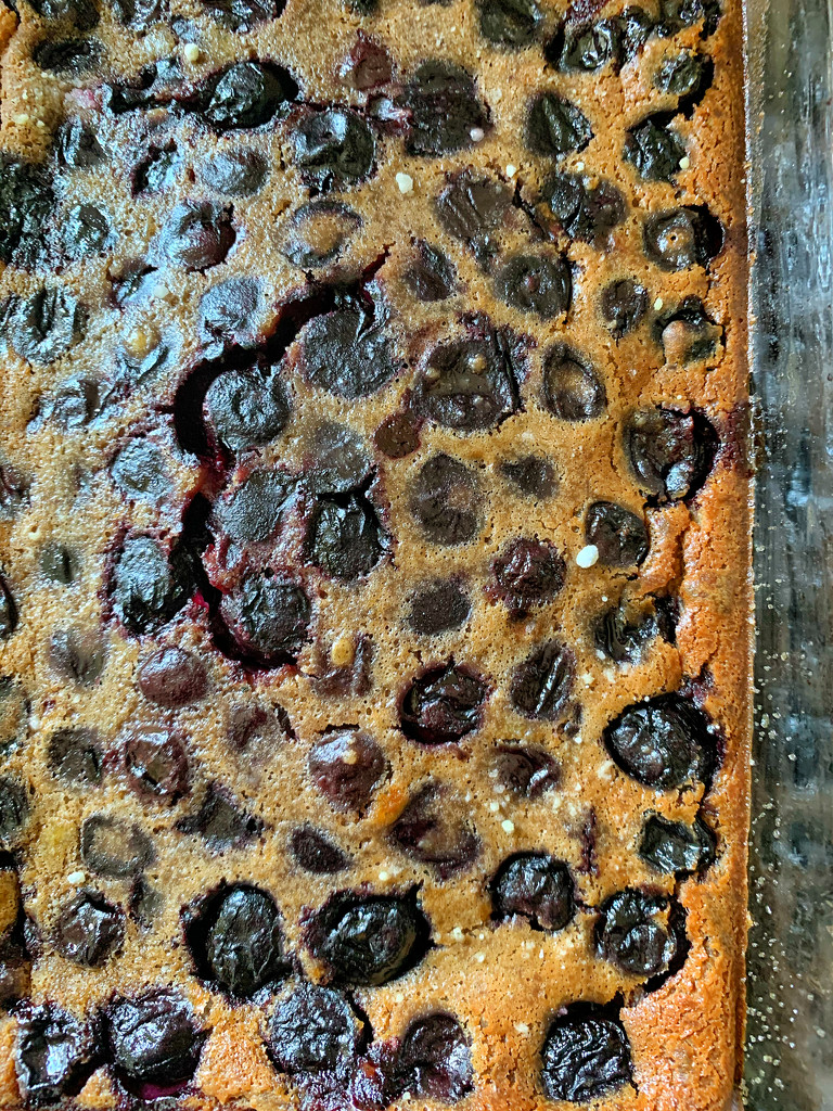 Cherries clafoutis.  by cocobella