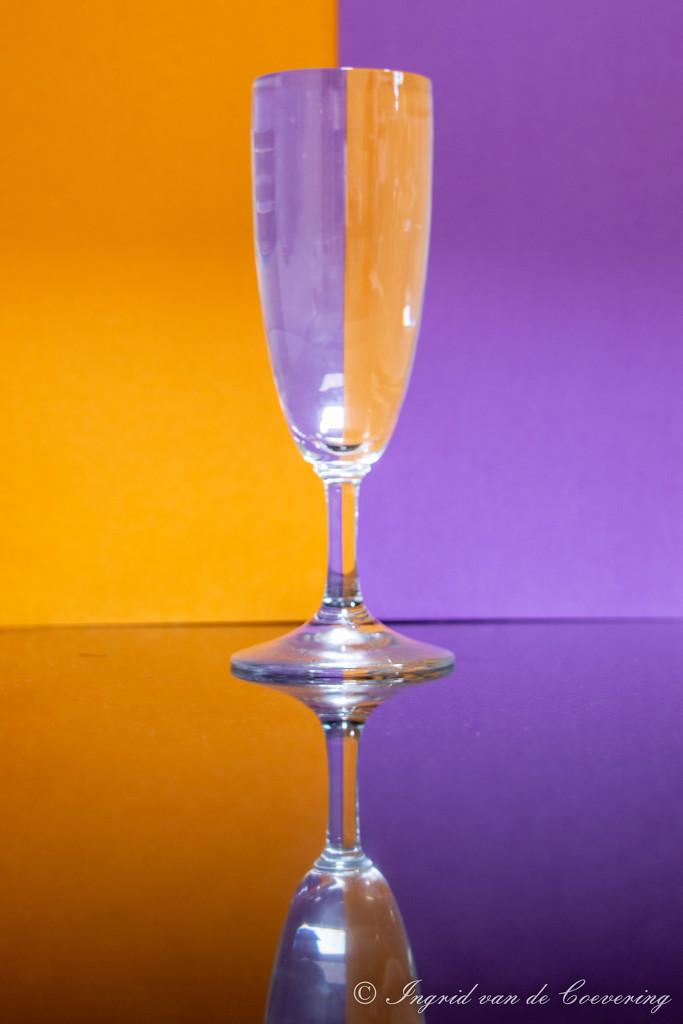 Half half glass #1 by ingrid01