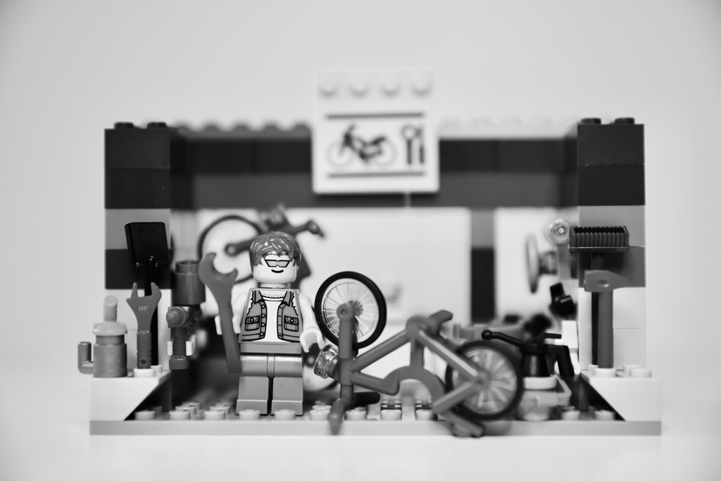 Day 123 - Focus on... Biker Barry. by wag864