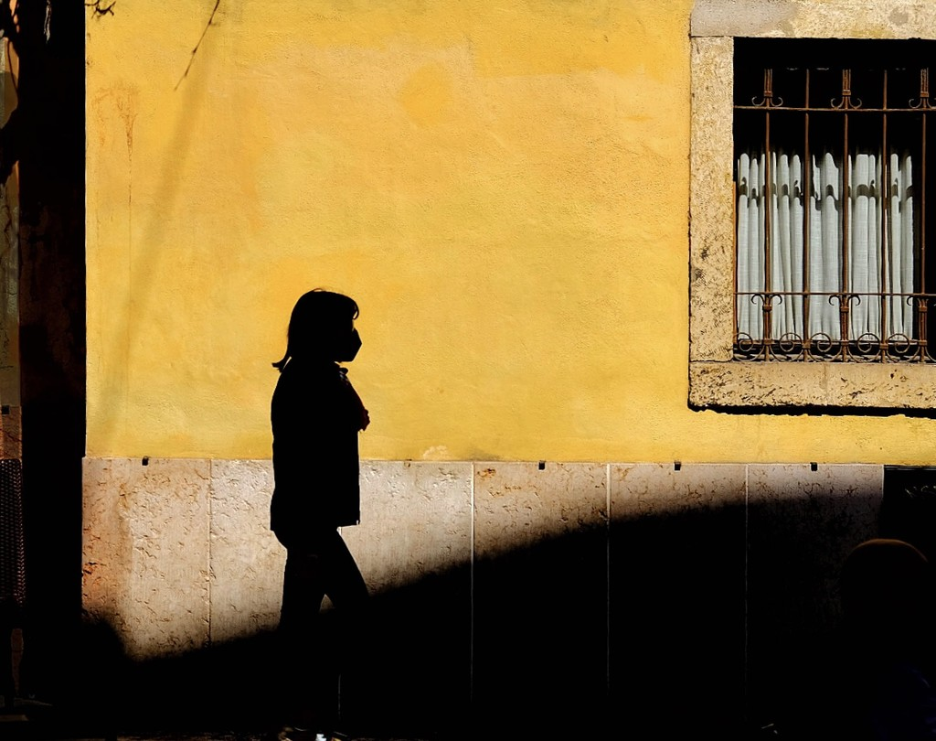 a girl  by caterina