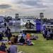 Movie night at the Stellenbosch Flying Club.