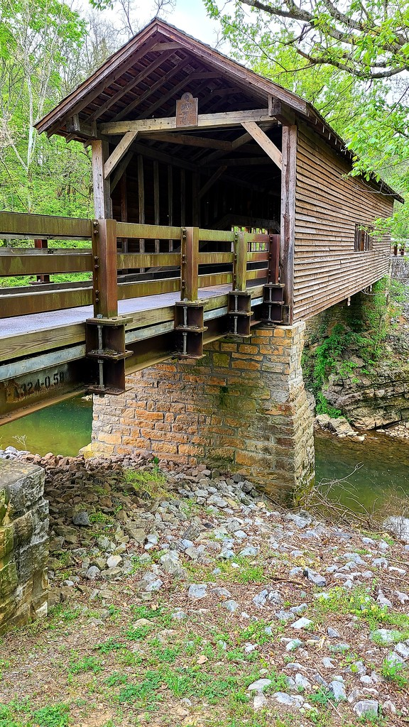 Covered Bridge in Sevierville by photograndma