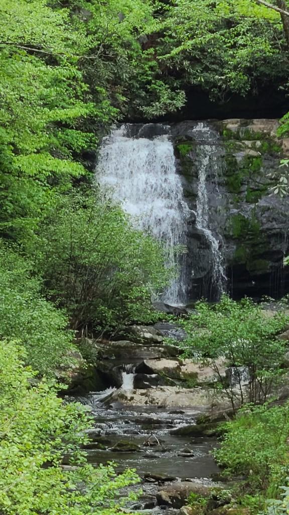 Smoky Mtn Waterfall #1 by photograndma