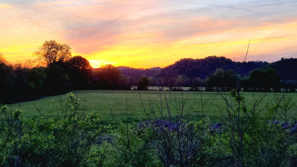 Tennessee Sunset by photograndma