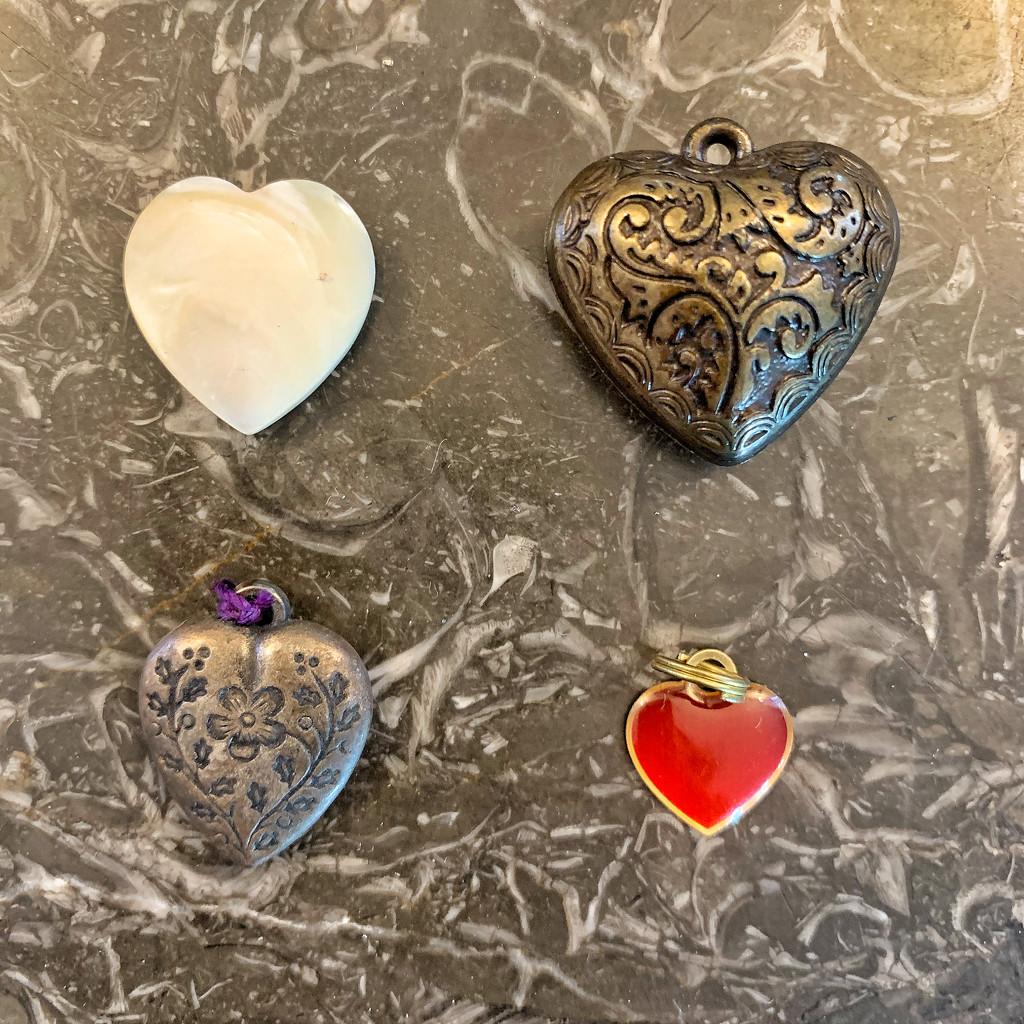Four hearts.  by cocobella