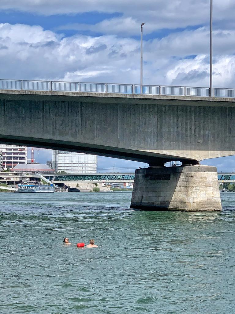 Bath under a bridge.  by cocobella