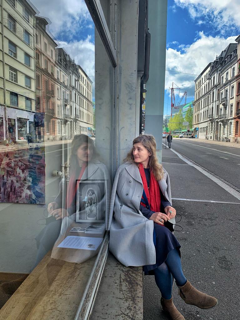 Juliette in Basel.  by cocobella