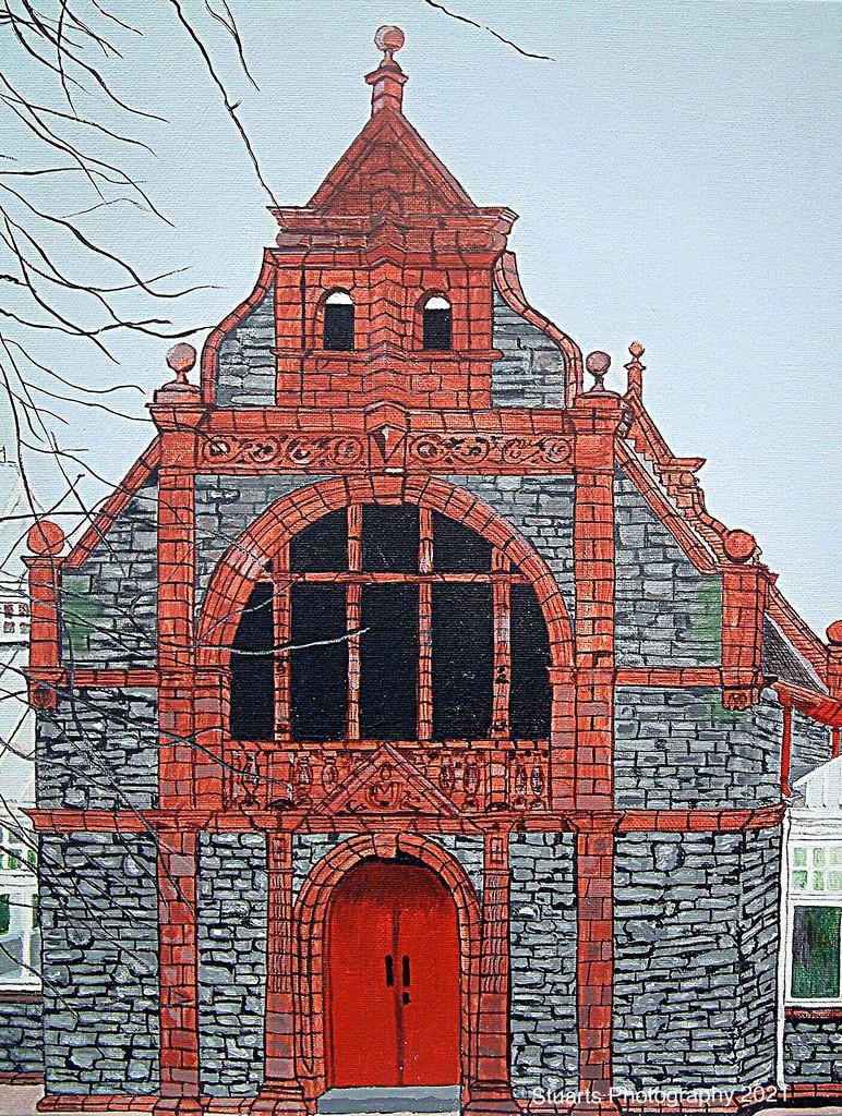 Pavilion (painting) by stuart46
