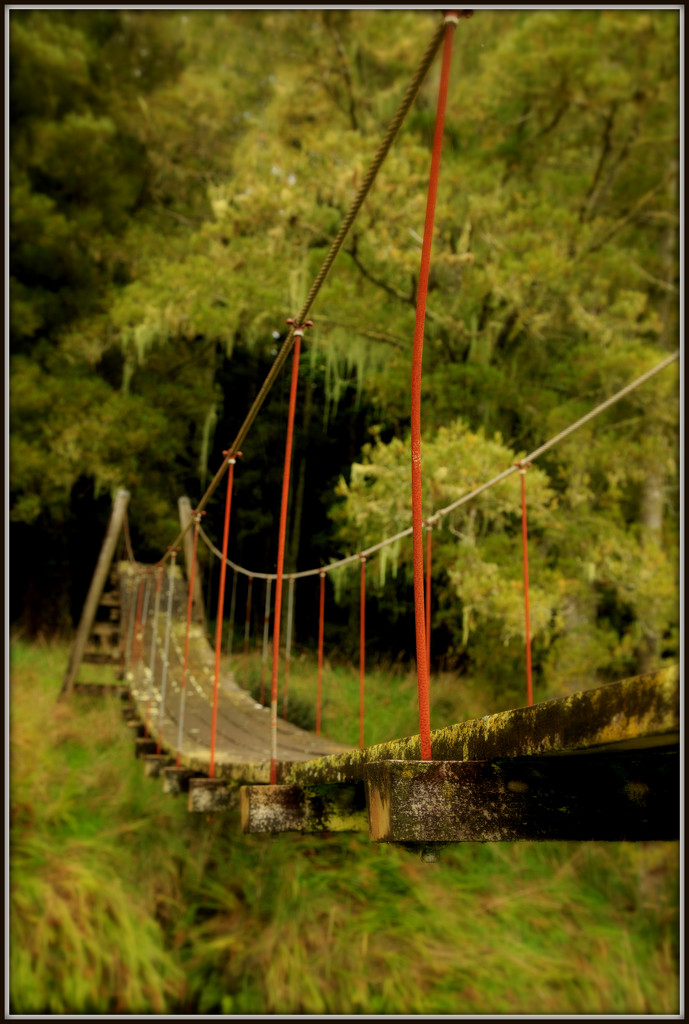 The old swing bridge by dide