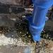 pavement downpipe