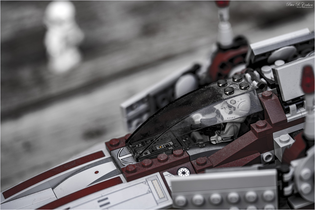 Lego Starfighter by pcoulson