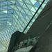 Half roof, half escalator