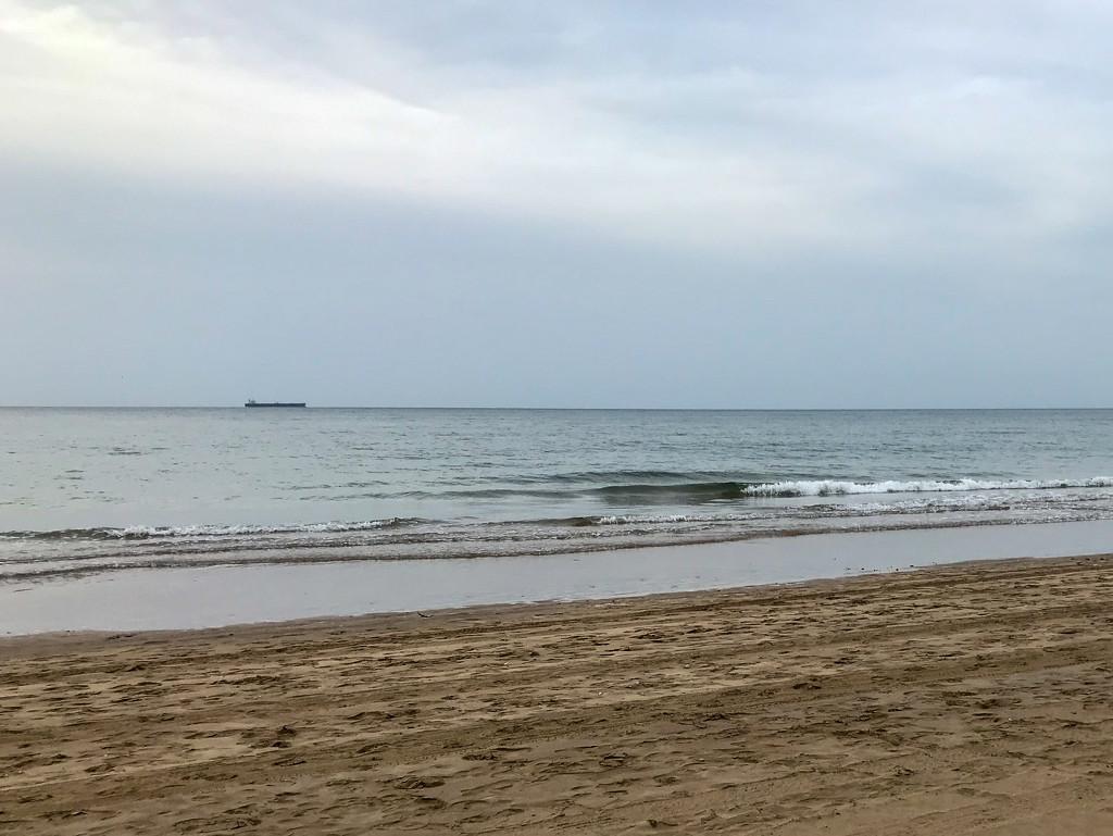 Half beach half sky by ingrid01