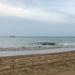 Half beach half sky